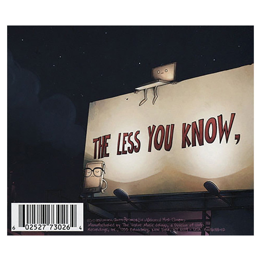 <!--020111004034741-->DJ Shadow - 'The Less You Know, The Better' [CD]