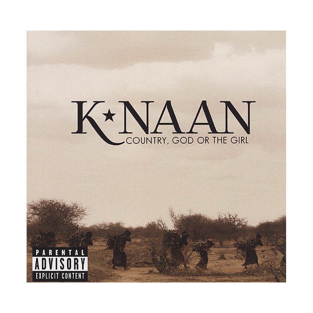 <!--2012101622-->K'Naan - 'Country, God Or The Girl' [CD]