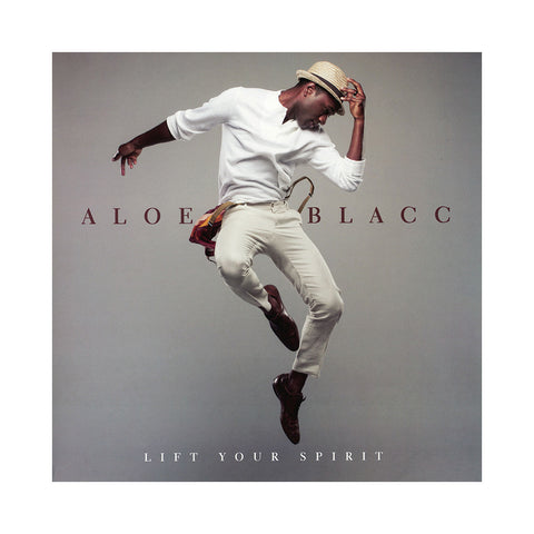 "[""Aloe Blacc - 'Lift Your Spirit' [(Black) Vinyl LP]""]"