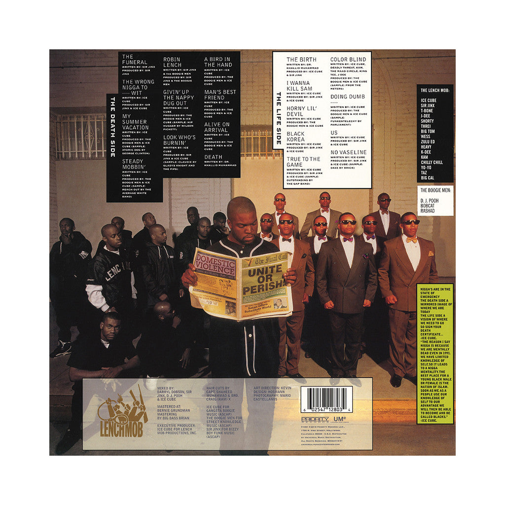Ice cube death certificate vinyl lp buy cover art album stream ice cube death certificate 3d lenticular cover black 1betcityfo Choice Image