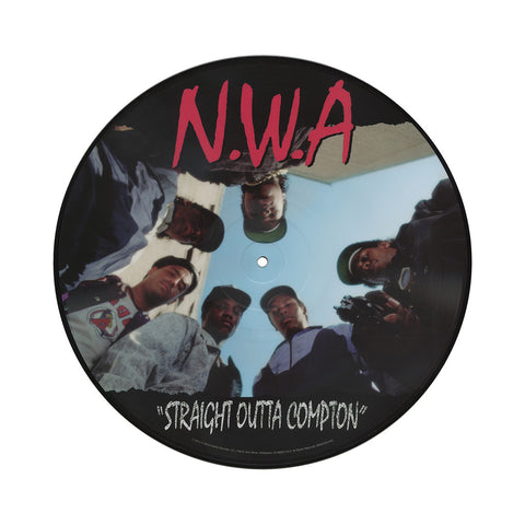 "[""N.W.A. - 'Straight Outta Compton' [(Picture Disc) Vinyl LP]""]"