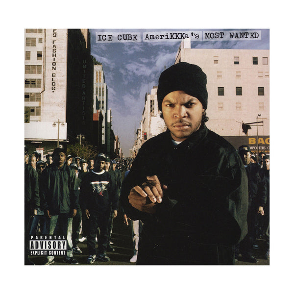 Ice Cube Amerikkka S Most Wanted Cd Reissue