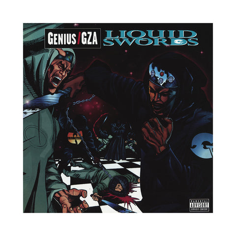 "[""GZA/ Genius - 'Liquid Swords (20th Anniversary Edition)' [(Black) Vinyl [2LP]]""]"