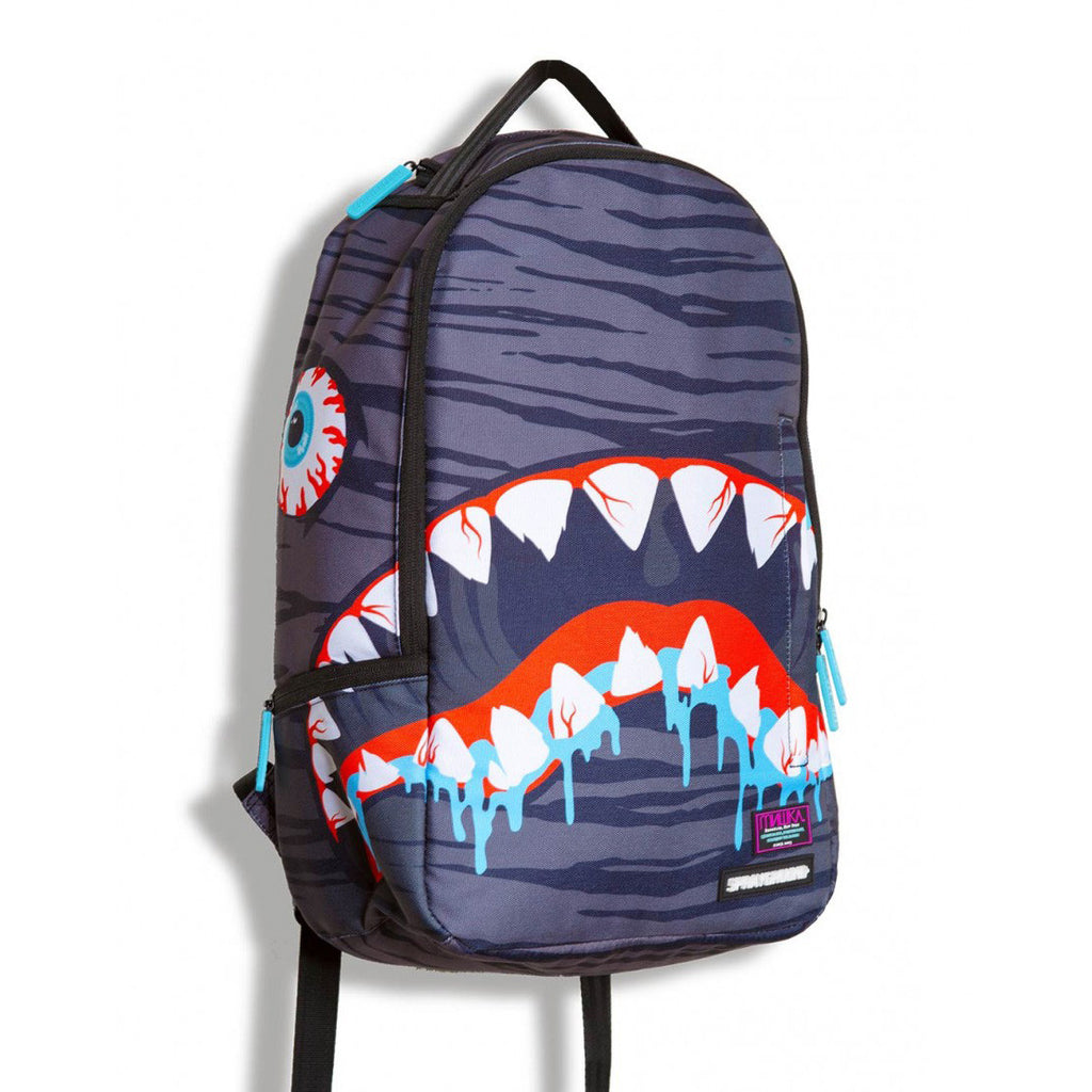 <!--020130730058476-->Sprayground x Mishka NYC - 'Death Shark' [(Multi-Color) Backpack]