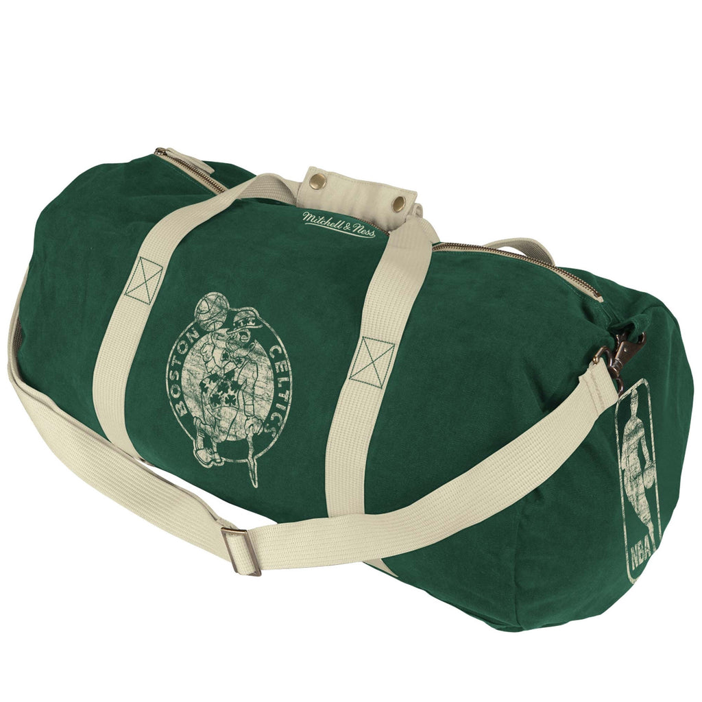 <!--020120918049014-->Mitchell & Ness x NBA - 'Boston Celtics - NBA Washed Canvas Bag' [(Green) Duffel Bag]