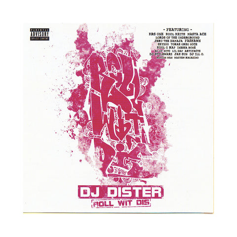 "[""DJ Dister - 'Roll Wit Dis' [CD]""]"