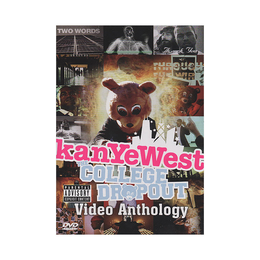 <!--020050322002707-->Kanye West - 'College Dropout: Video Anthology' [DVD]