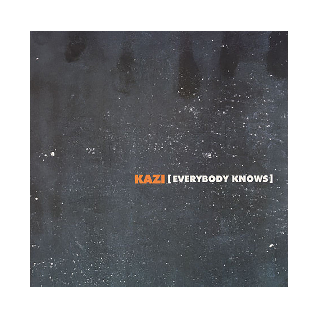 "<!--020041012012037-->Kazi - 'Everybody Knows/ Pressure/ High Resistance' [(Black) 12"""" Vinyl Single]"