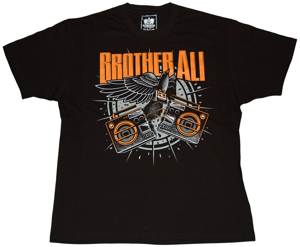 <!--2011020115-->Brother Ali - 'Boombox' [(Black) T-Shirt]