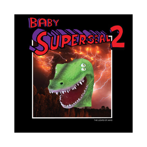 "[""Skratchy Seal - 'Baby Super Seal 2 (The Lizard Of AAHS)' [(Halloween Orange & Slime Green) 7\"" Vinyl Single]""]"