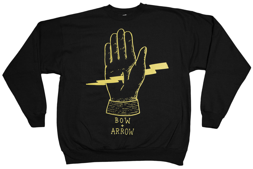<!--2012111339-->Bow+Arrow - 'Zeus' [(Black) Crewneck Sweatshirt]
