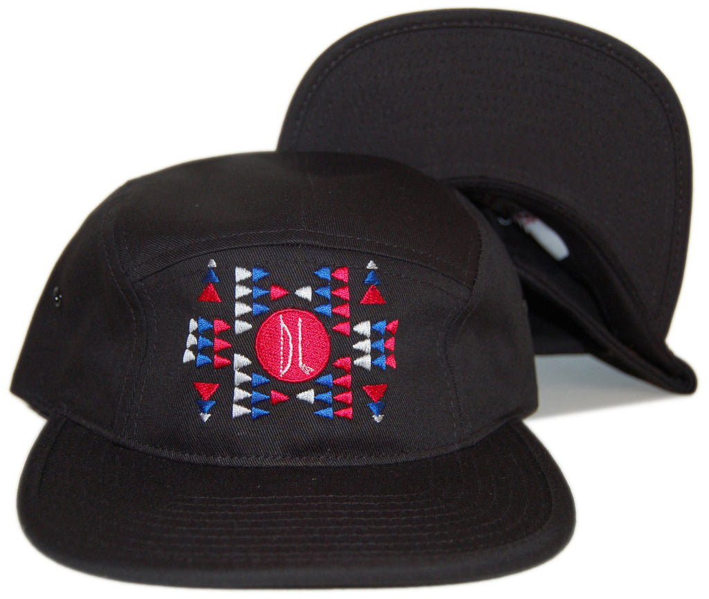 <!--020121113051906-->Bow+Arrow - 'Aztec' [(Black) Five Panel Camper Hat]