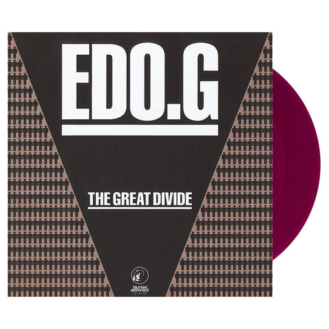 "EDO.G - 'The Great Divide/ The Great Divide (Remix)' [(Purple) 7"" Vinyl Single]"