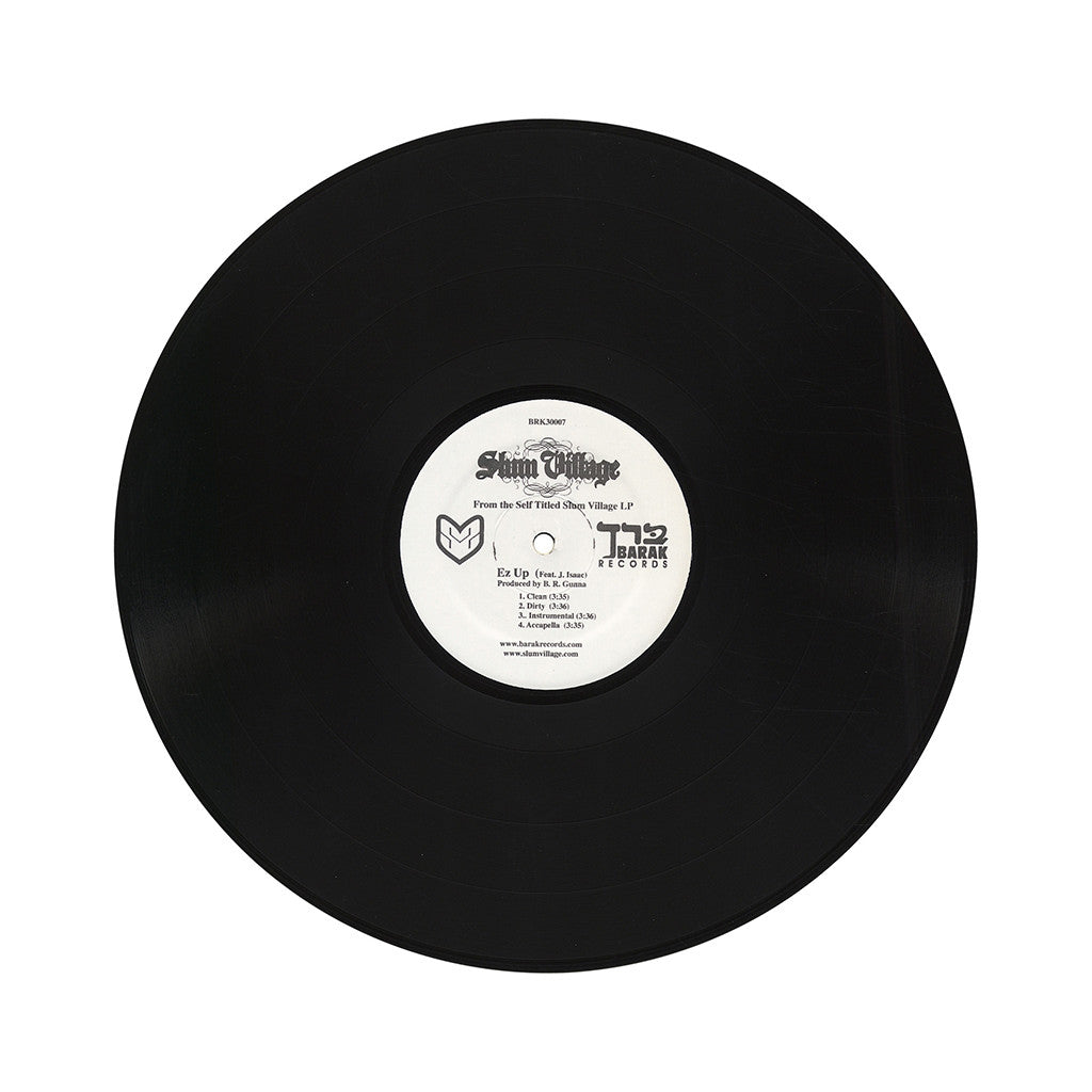 "<!--120050927001177-->Slum Village - 'Ez Up/ My Life/ Ghetto Movies' [(Black) 12"" Vinyl Single]"