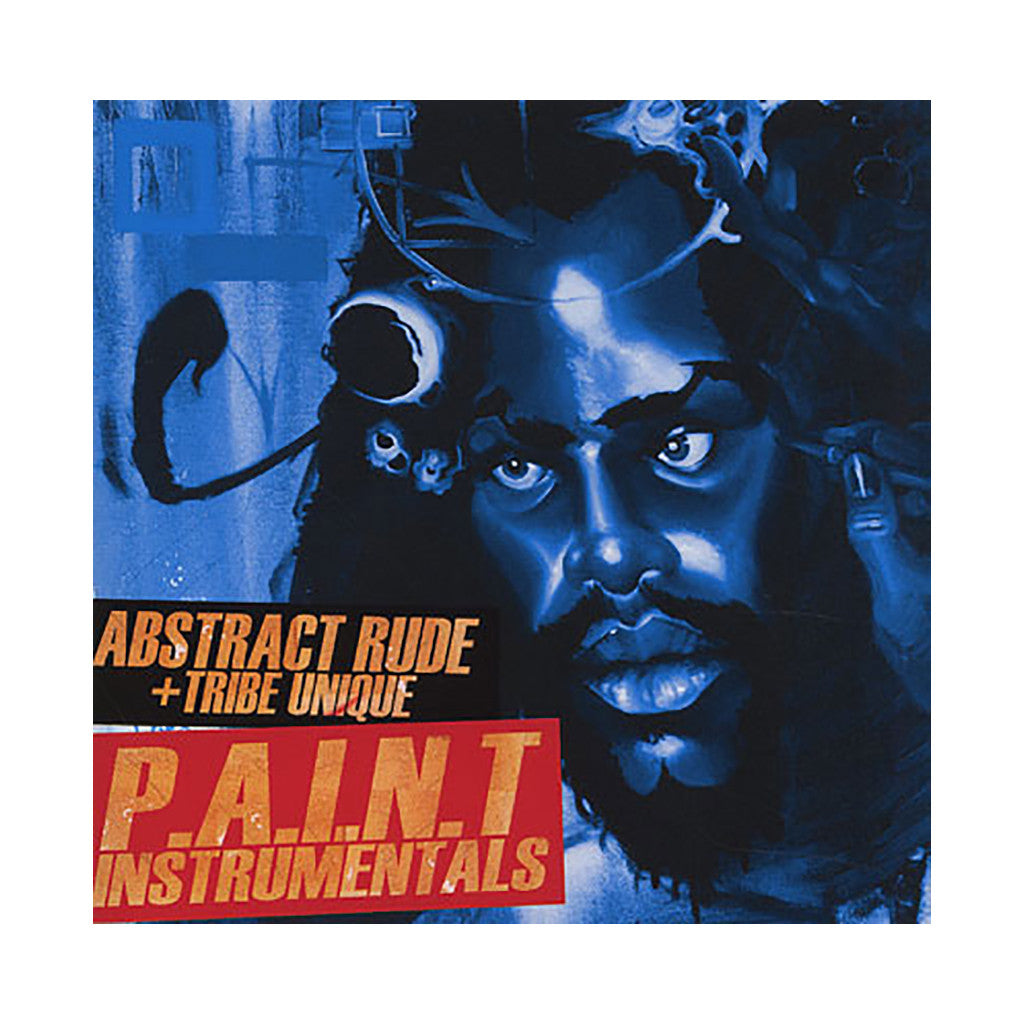 Abstract Rude & Tribe Unique - 'P.A.I.N.T. (Instrumentals)' [CD]