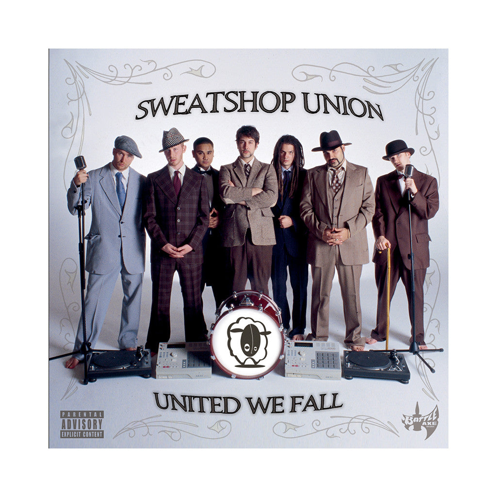 <!--020050920005498-->Sweatshop Union - 'United We Fall' [CD]