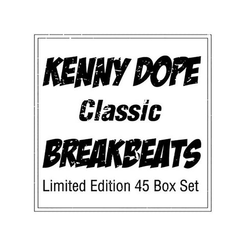 "Kenny Dope - 'Classic Breakbeats Limited Edition 45 Box Set' [(Black) 7"" Vinyl Single [6x7""]]"