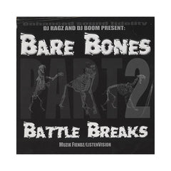 DJ Ragz & DJ Boom - 'Bare Bones Battle Breaks Pt. 2' [(Black) Vinyl LP]