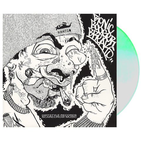 "[""Darth Fader & Scarecrow Willy - 'Bionic Booger Breaks' [(Glow-In-The-Dark) Vinyl LP]""]"