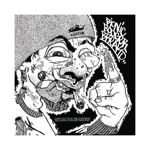 "[""Darth Fader & Scarecrow Willy - 'Bionic Booger Breaks (25th Anniversary Edition)' [(Booger) 7\"" Vinyl Single]""]"