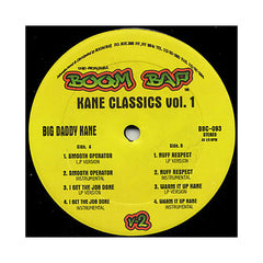 "<!--020080527013966-->Big Daddy Kane - 'Smooth Operator/ I Get The Job Done/ Nuff Respect/ Warm It Up Kane (Kane Classics Vol. 1)' [(Black) 12"""" Vinyl Single]"