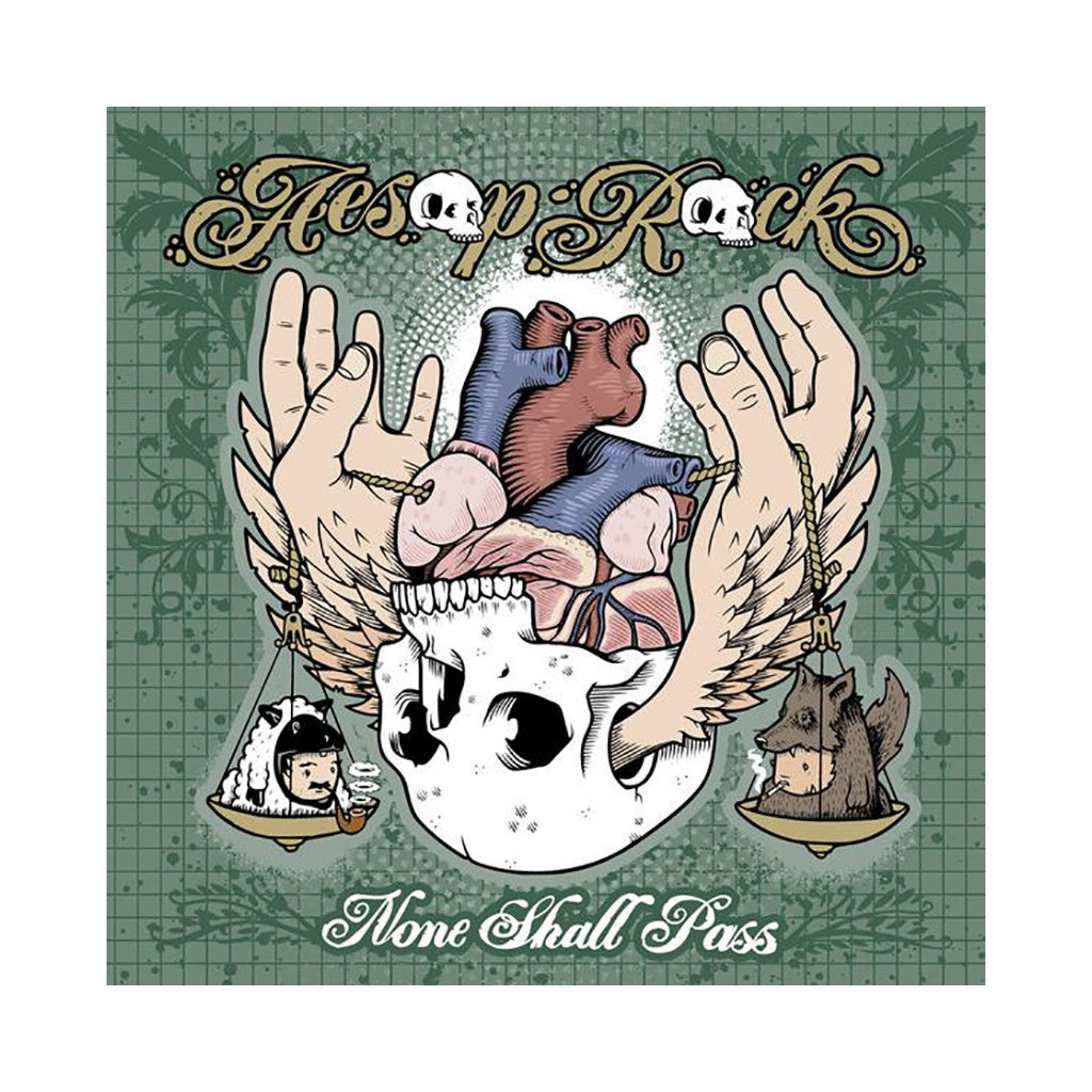 <!--120110503004842-->Aesop Rock - 'None Shall Pass (Re-Issue)' [CD]