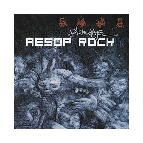 "[""Aesop Rock - 'Labor Days (Re-Issue)' [CD]""]"