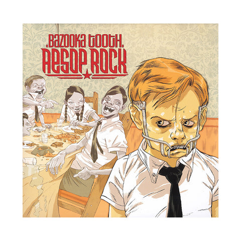 "[""Aesop Rock - 'Bazooka Tooth (Re-Issue)' [(Black) Vinyl [3LP]]""]"