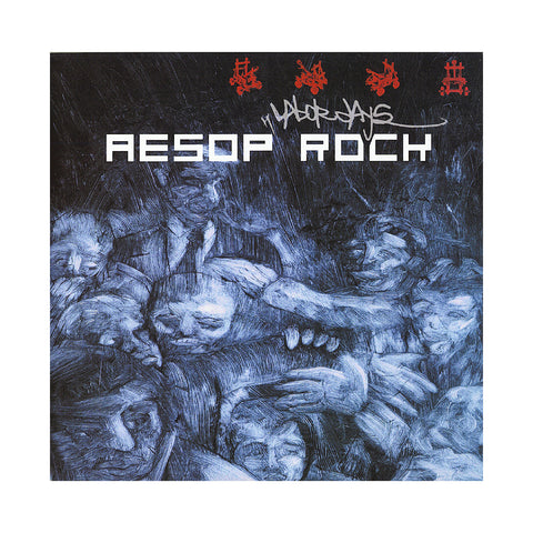"[""Aesop Rock - 'Labor Days (Re-Issue)' [(Black) Vinyl [2LP]]""]"
