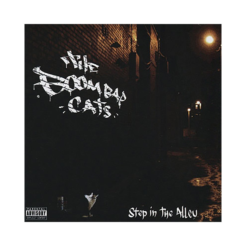 <!--020080325013469-->Boom Bap Cats - 'Step In The Alley' [CD]