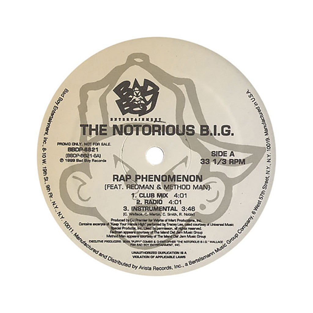 <!--2012062902-->Notorious B.I.G. - 'Rap Phenomenon (INSTRUMENTAL)' [Streaming Audio]