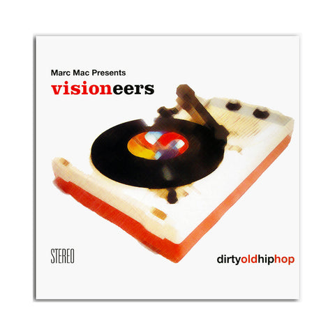 "[""Visioneers (Marc Mac of 4hero Presents) - 'Dirty Old Hip Hop' [(Orange) Vinyl [2LP]]""]"