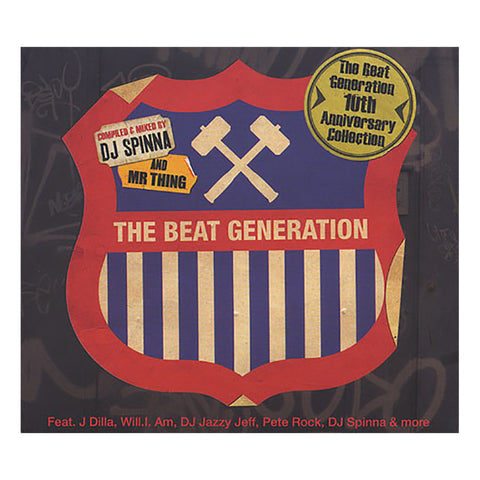 "[""Various Artists (Compiled & Mixed By: DJ Spinna & Mr. Thing) - 'The Beat Generation: 10th Anniversary Collection' [CD [2CD]]""]"