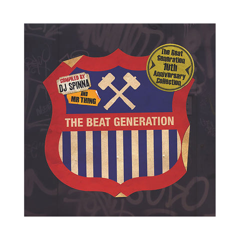 "[""Various Artists (Compiled By: DJ Spinna & Mr. Thing) - 'The Beat Generation: 10th Anniversary Collection' [(Black) Vinyl [2LP]]""]"