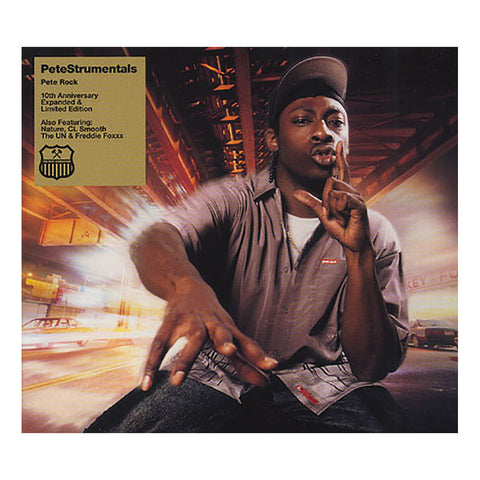 "[""Pete Rock - 'PeteStrumentals (10th Anniversary Expanded Edition)' [CD [2CD]]""]"