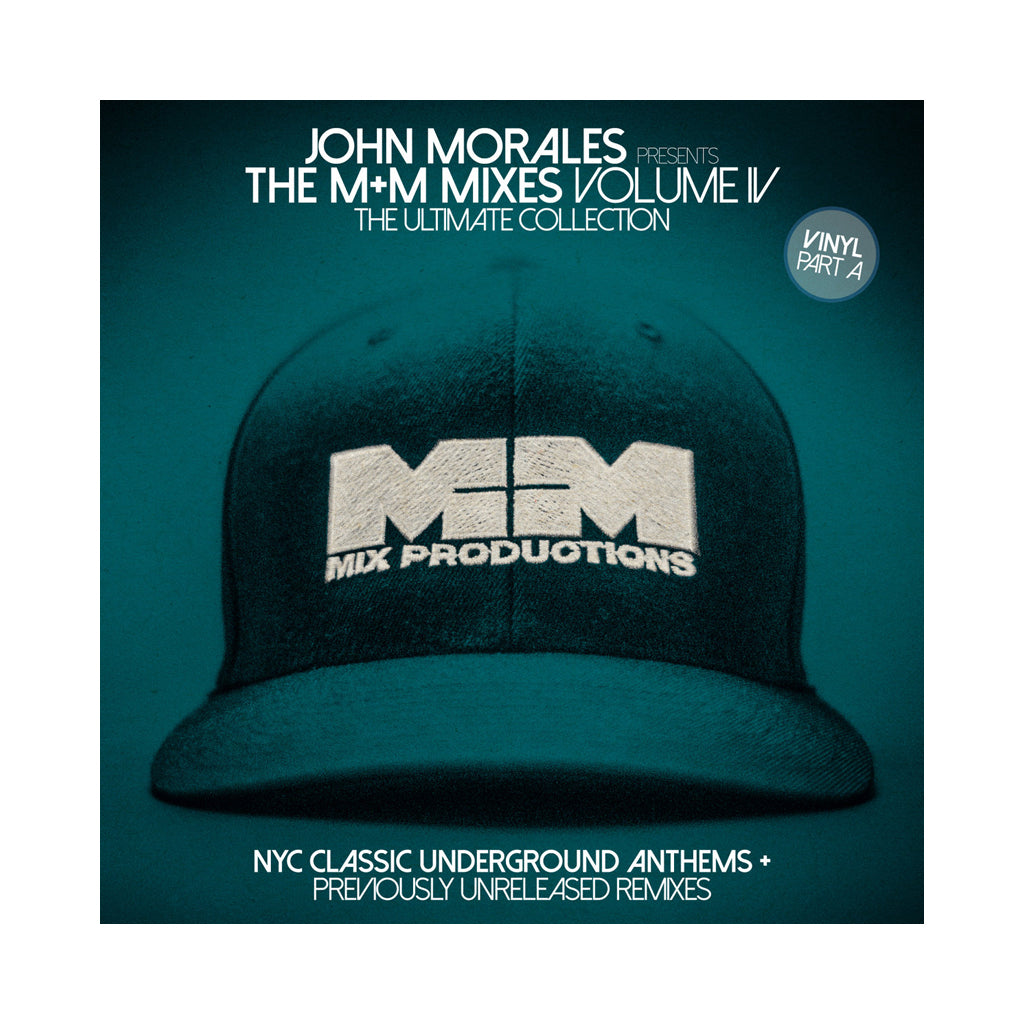 John Morales Presents - 'The M+M Mixes Vol. 4, Part A: The Ultimate Collection (NYC Classic Underground Anthems)' [(Black) Vinyl [2LP]]