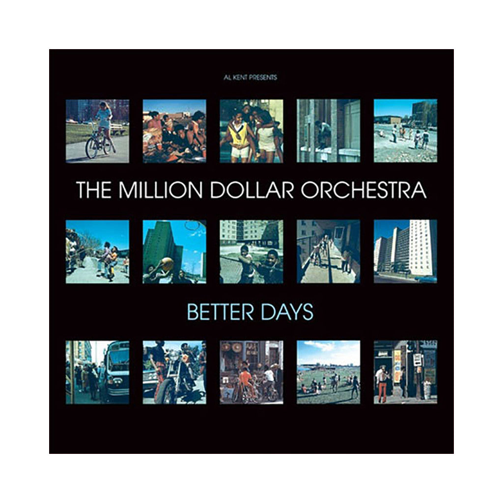 <!--120080115011315-->Million Dollar Orchestra (Al Kent Presents) - 'Better Days' [CD]
