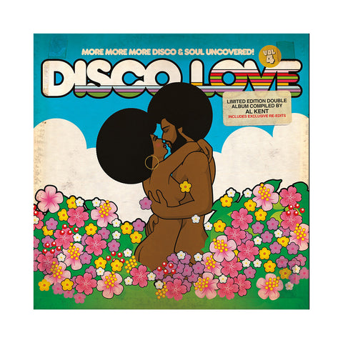 Various Artists (Compiled By: Al Kent) - 'Disco Love 4: More More More Disco & Soul Uncovered!' [(Black) Vinyl [2LP]]