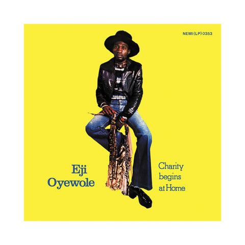 Eji Oyewole - 'Charity Begins At Home' [(Black) Vinyl LP]