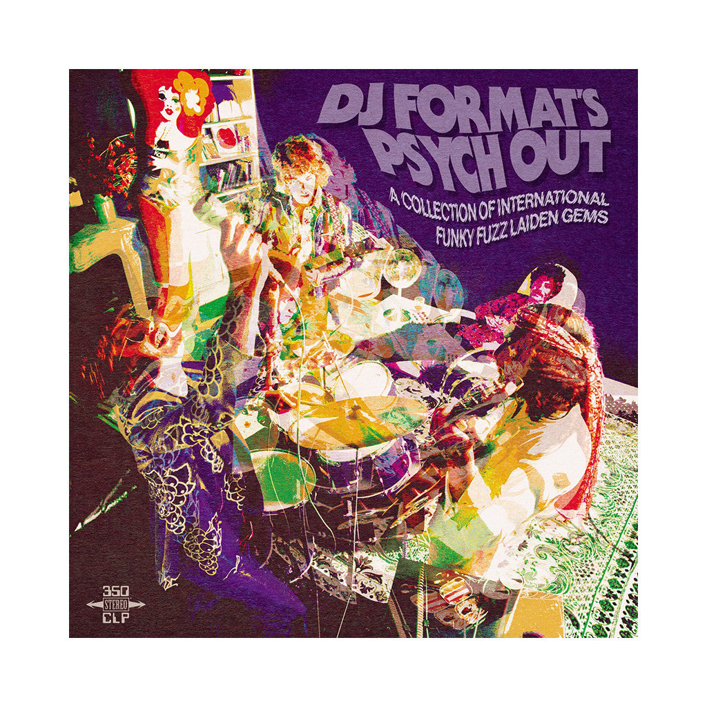 Various Artists (Compiled By: DJ Format) - 'DJ Format's Psych Out: A Collection Of International Funky Fuzz Laiden Gems' [CD]