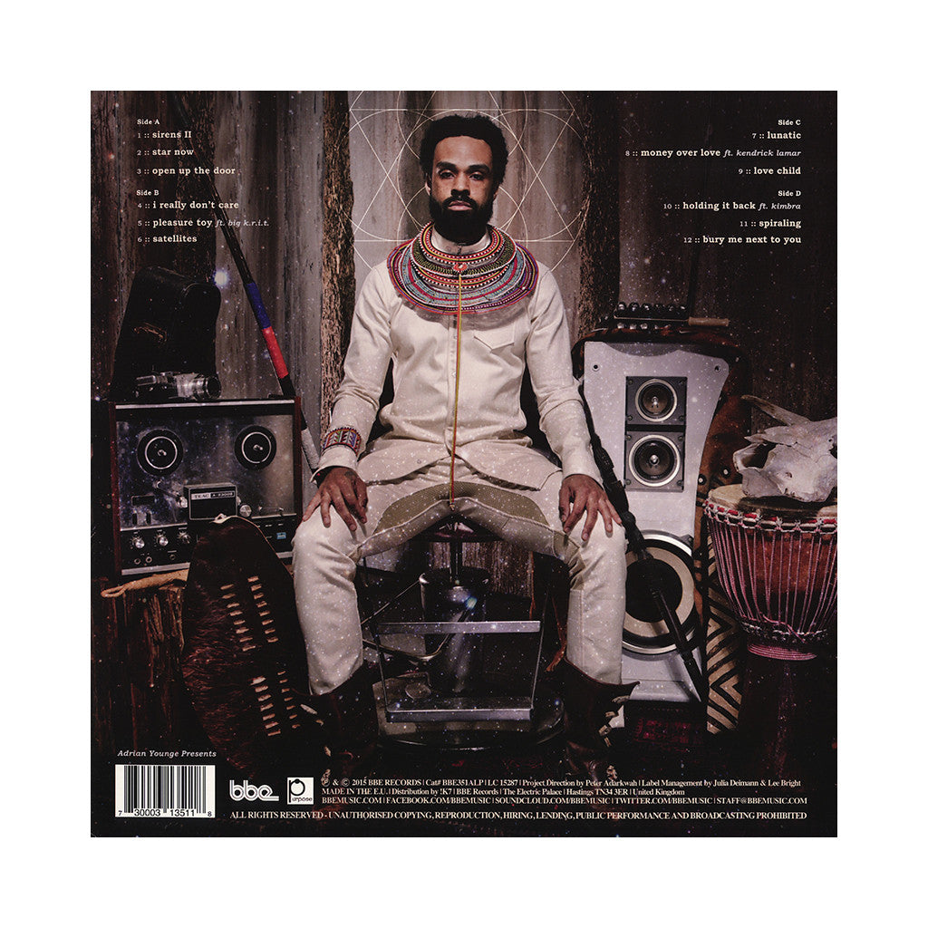 Bilal - 'In Another Life' [(Black) Vinyl [2LP]]