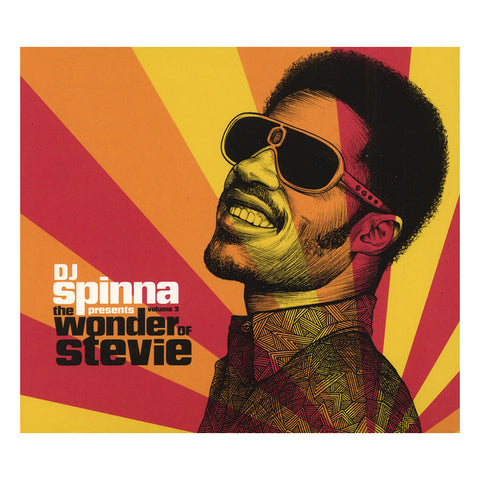 DJ Spinna Presents - 'The Wonder Of Stevie Vol. 3' [CD [2CD]]