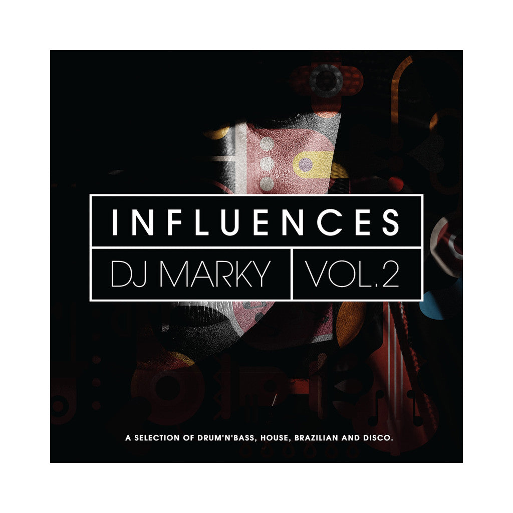 Various Artists (Mixed & Compiled By: DJ Marky) - 'Influences Vol. 2' [(Black) Vinyl [2LP]]