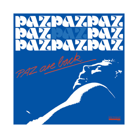 Paz - 'PAZ Are Back' [(Black) Vinyl LP]