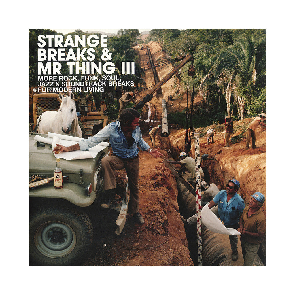 Various Artists Compiled By Mr Thing Strange Breaks Mr