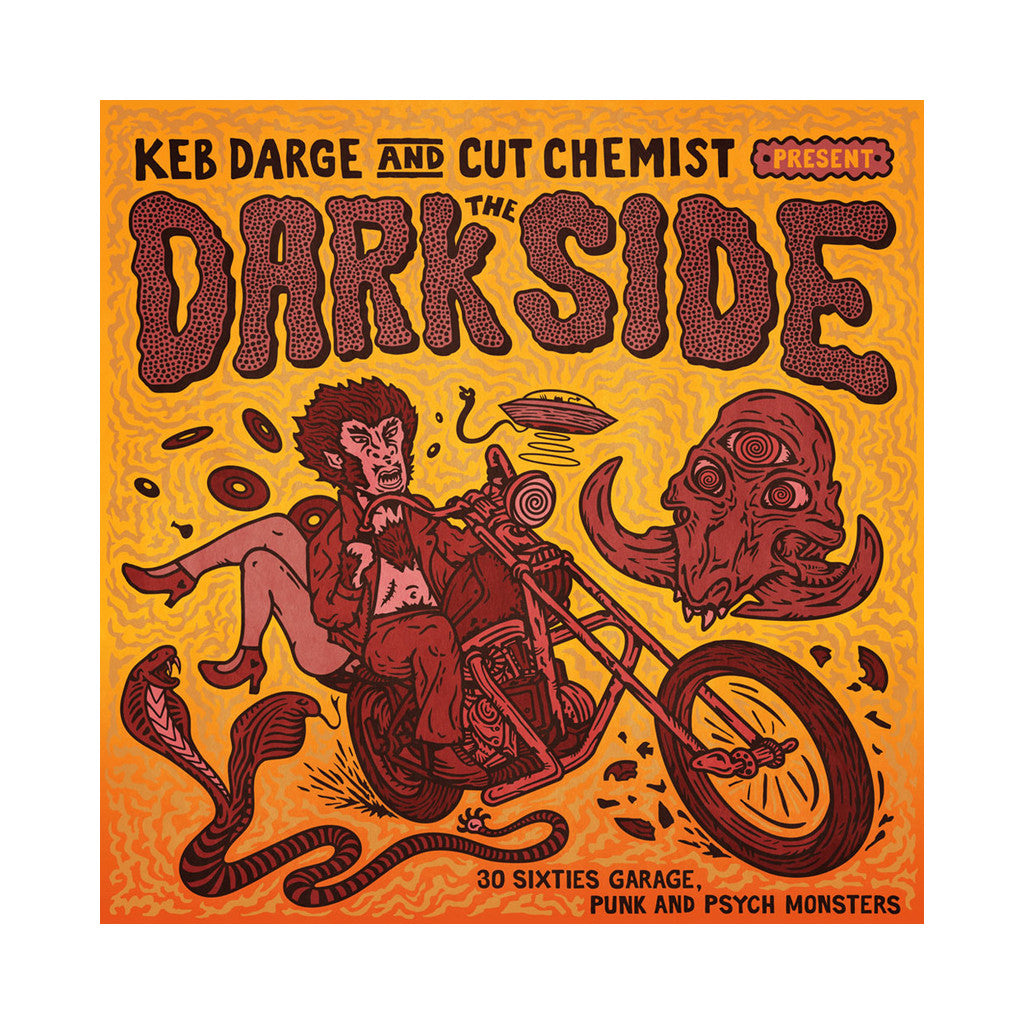 Various Artists (Compiled By: Keb Darge & Cut Chemist) - 'The Dark Side: 30 Sixties Garage Punk and Psyche Monsters' [(Black) Vinyl [2LP]]