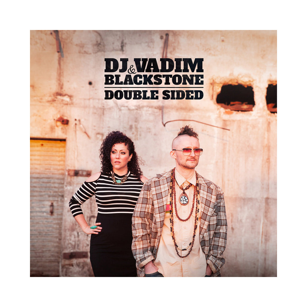 DJ Vadim & Blackstone - 'Double Sided' [(Black) Vinyl LP]