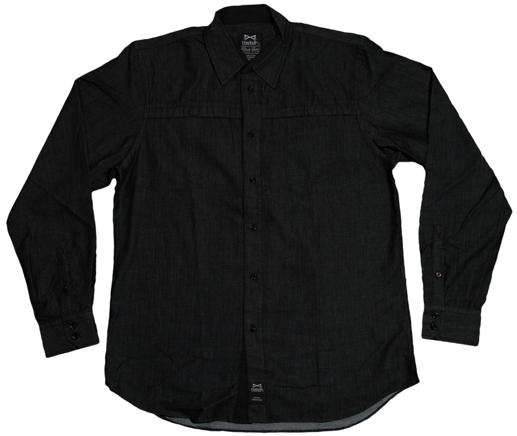 <!--2011101840-->Bloodbath - 'Dehli' [(Black) Button Down Shirt]