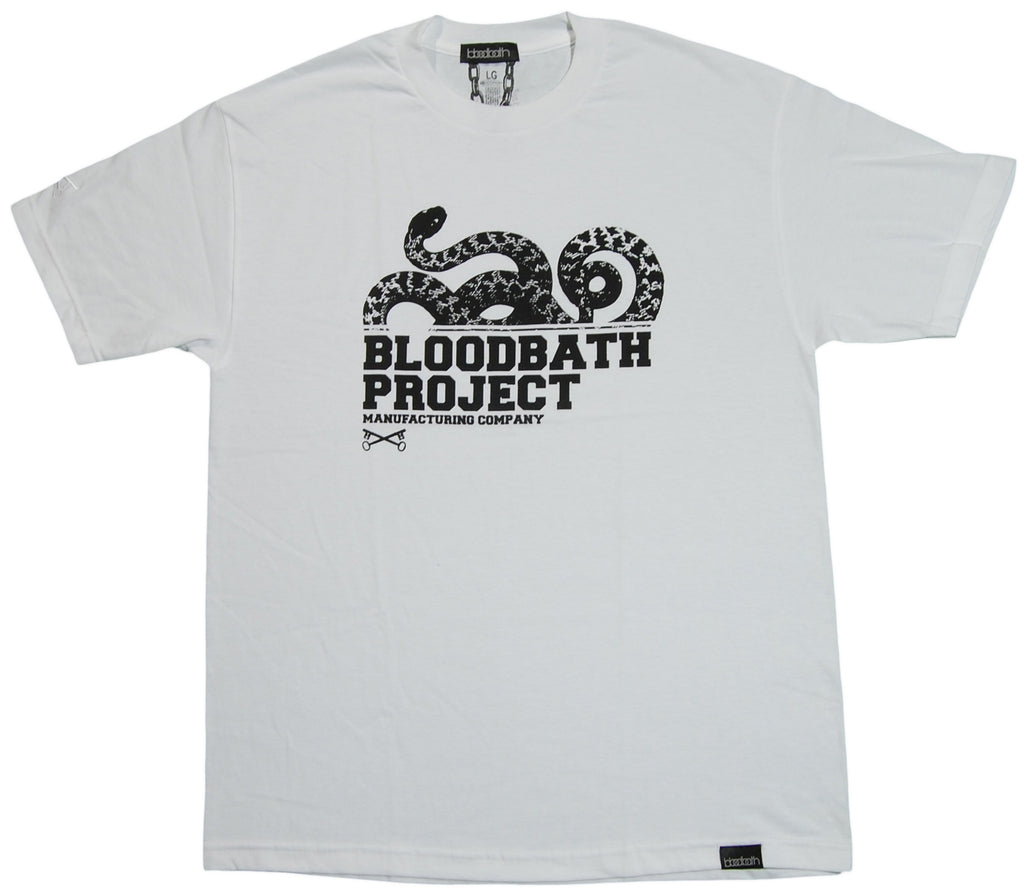 <!--2011101814-->Bloodbath - 'Serpent' [(White) T-Shirt]