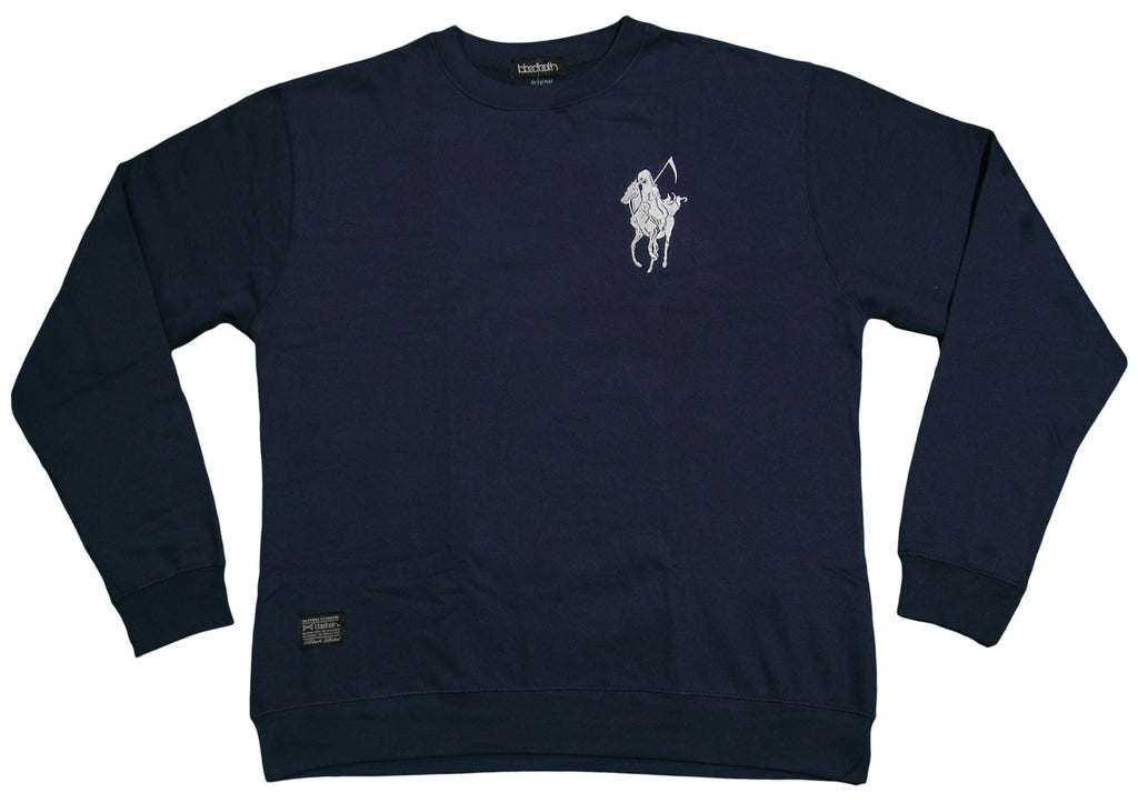 <!--2012111328-->Bloodbath - 'Pale Horse' [(Dark Blue) Crewneck Sweatshirt]